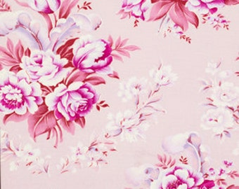 Last Yard CIRCA Fabric by Jennifer Paganelli 1 Yard Taylor in Rose Free Spirit Fabric