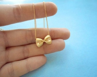Cute, Pasta, Necklace, Farfalle, Gold, Silver, Necklace, Ribbon, Necklace, Spaghetti, Foods, Jewelry, Birthday, Friendship, Gift, Jewelry