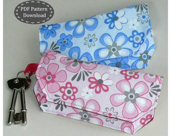 Key Chain Coin Purse Bag PDF Pattern Download