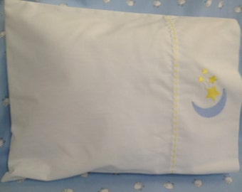Moon and Stars Baby Pillow