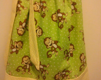Monkey Pillowcase Dress