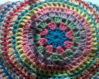 Large Crochet afghan or throw.