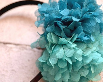 Sea PonPon Headband