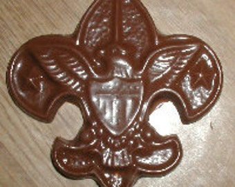 Boy Scout Symbol  Lolly Chocolate Mold