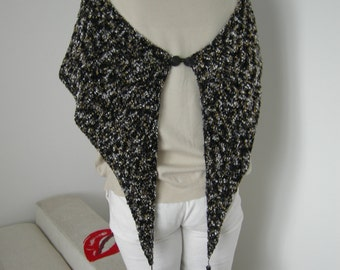 Hand knit elegant scarf