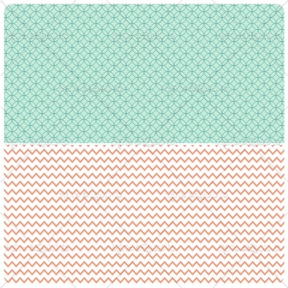 Basket Weaving Supplies Phoenix Az : Mint coral gold seamless patterns digital