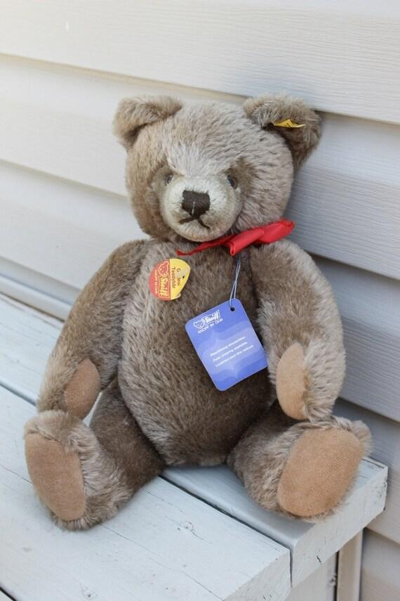 Steiff Teddy Bear Vintage 1968 Original Teddy Bear Excellent condition
