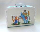 Vintage Children Child's Toy Suitcase Medium model 1970's