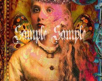 no902 original Collage ART digital collage sheet download supplies print sheets altered art