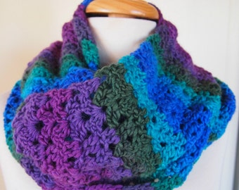 Infinity Scarf - multicolour striped