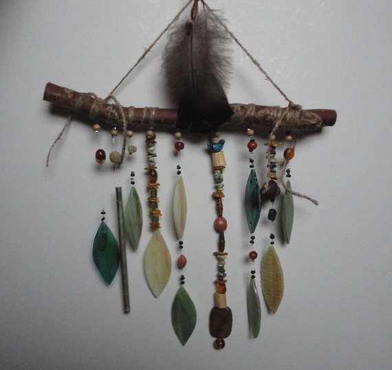 The Forest Floor, Stained Glass Sculpture, Windchime, Mobile, Wall Hanging