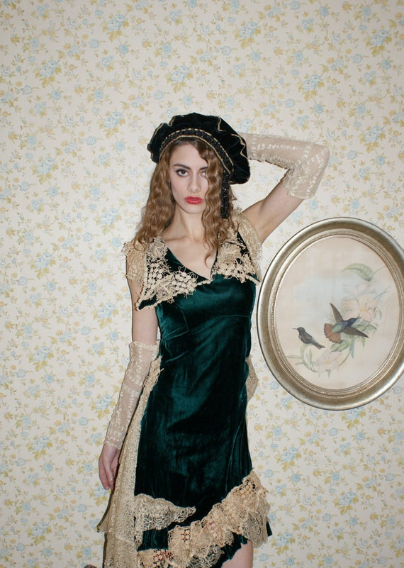 The Cake is a Lie Victorian Lace Arms Cuffs Boudoir Queen as found