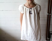Linen Play Dress, Linen Tunic - Sewn to Order