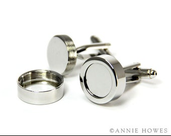 Make Your Own Custom Cufflinks. Wedding Party, Graduation, Father's Day Gift.