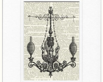 chandelier print no. 4