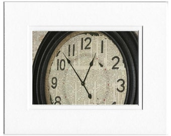 Vintage wall clock photo