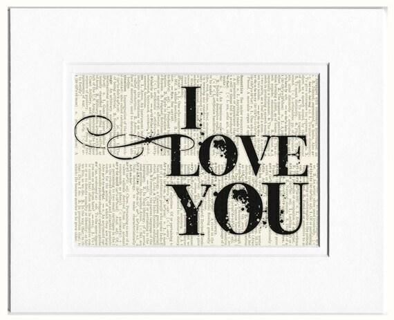 I Love you, black sign