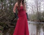 Organic Love Me 2 Times Wanderer Long Fleece Dress (hemp/organic cotton fleece)