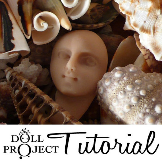 Doll Face Tutorial Cabs Tricks and Techniques - How to Make your Own Art Doll Faces DIY