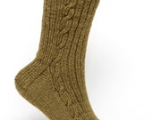 Pattern Only: Link Cable Rib Socks