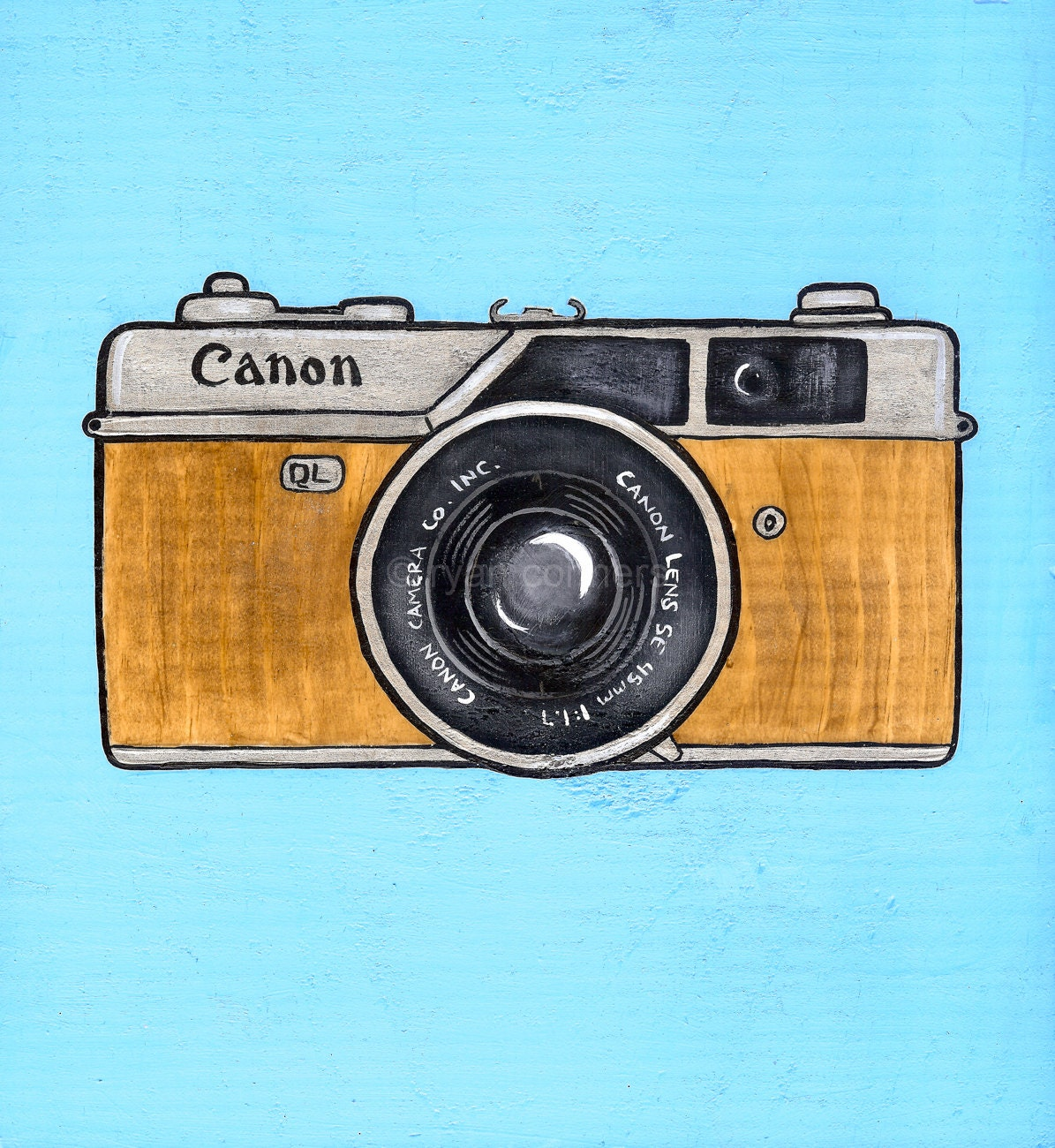 It's just a picture of Versatile Canon Camera Drawing