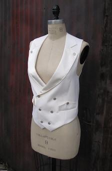 Womens White Vest