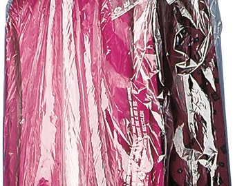 Dry Cleaning Garment Plastic Bags 21.9 x 9 x 8.7, 5 pcs/ order