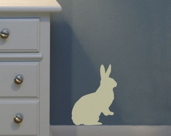 Bunny wall decal sticker