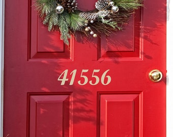 Custom Made Vinyl Decal Numbers - house numbers - Mailbox numbers - address numbers