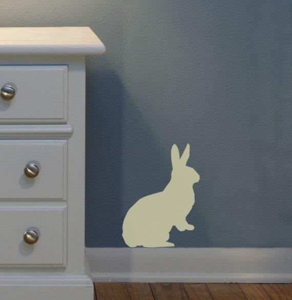 Bunny wall decal sticker