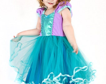 Mermaid dress  princess Tutu dress for birthday party dress  or portrait