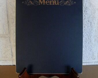 Chalkboard  - Wedding Menu Blackboard with Easel -  Item E1503