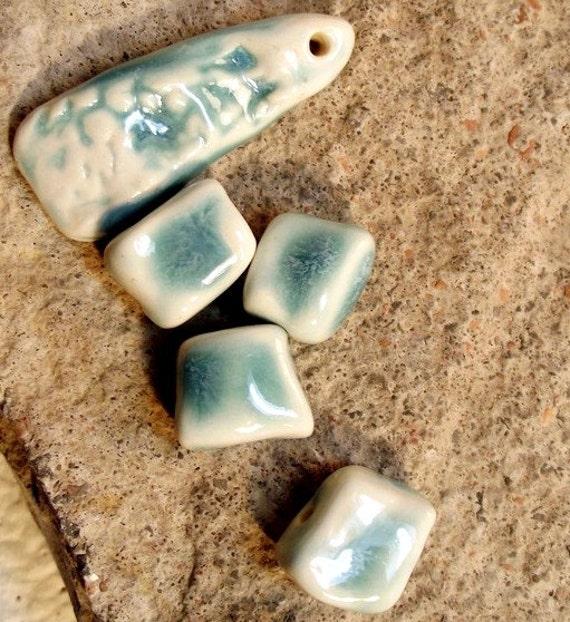 Cotton Candy...ceramic beads