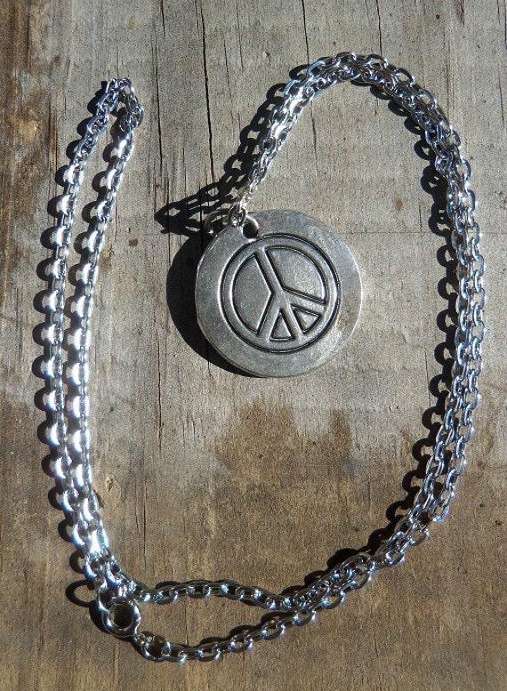 A Piece of Peace Necklace