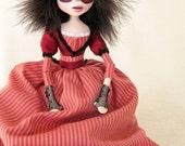 Mrs Lovett - Creepy Gothic Art Doll