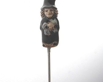 Witch Brooch Pin Topper