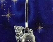 Pug Keychain- Purse Charm - Zipper Pull