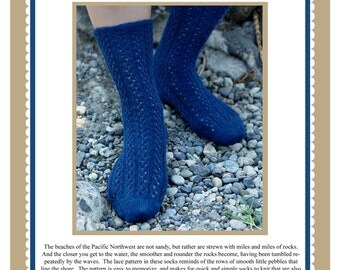Pebbles Socks Knitting Pattern PDF