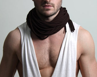 Cowl, Brown Cowl, Gift For Him, Boyfriend Gift, Hipster, Gift For Boyfriend, Men Gift, Gift Ideas, For Her, For Him, Gift For Men, Mens