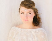 Evangeline Bridal Headband, Rhinestone Halo, Crown, Tiara, Wedding Headpiece Bridal Hair Piece crystal bridal headband, boho bridal headband