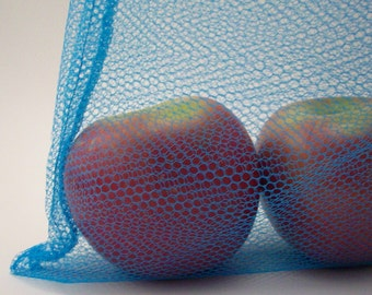 Reusable Produce Bags - Set of 2 Mesh Unpaper Towel Bags