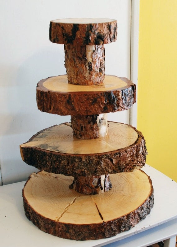 Add On Only Finish And Seal Your Wooden Cupcake Stand From
