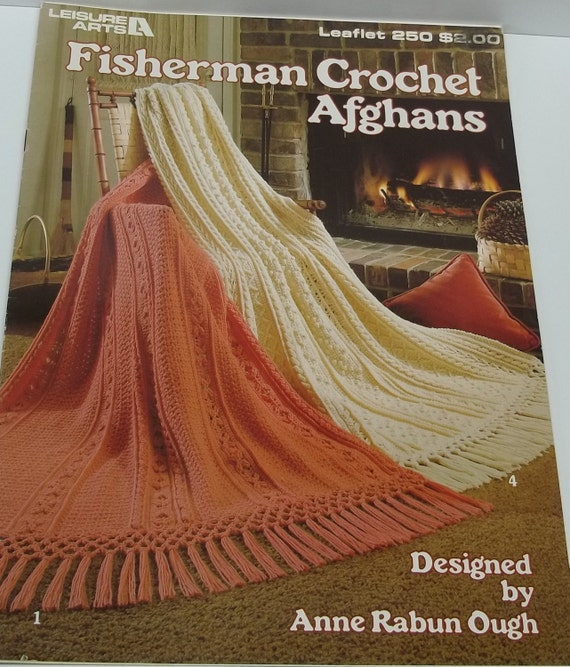 Free Crochet Patterns Fisherman Afghan : Fisherman Crochet Afghans pattern book by by ...