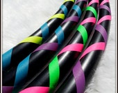 ULTRA BUDGET NaKeD Hoop -  Any Size. Any Tubing. Any Weight. Any Two Criss-Crossing Grip Colors.