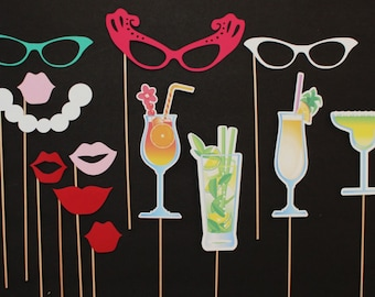 Photo Booth Props. Photo Booth. Photo Props - Ladies Night Out