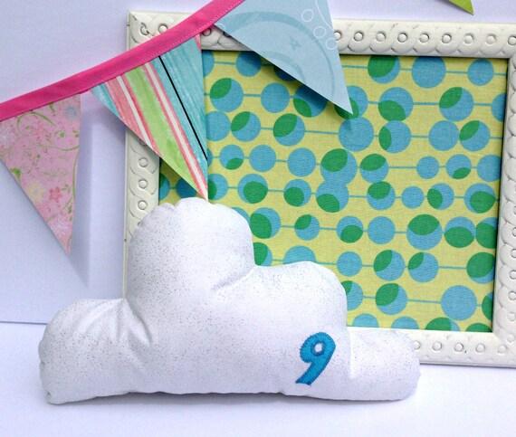 Cloud Pillow Plush - I'm on Cloud 9