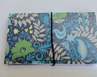 Coupon Organizer  Accordion Pocket Book Green Garden
