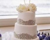 Rustic Wedding Cake Topper Love Birds We Do Vintage Chic Decor (item E10634)