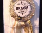 Lovely New Large Bravissimo Embellishment - Bravo - from Making Memories - FREE SHIPPING