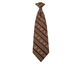 Clip On Tie, 70's Necktie